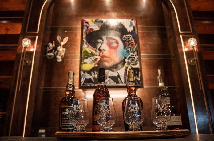 Rare whiskeys at Warren