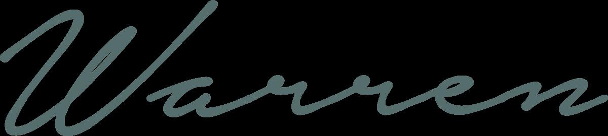 Warren Script logo