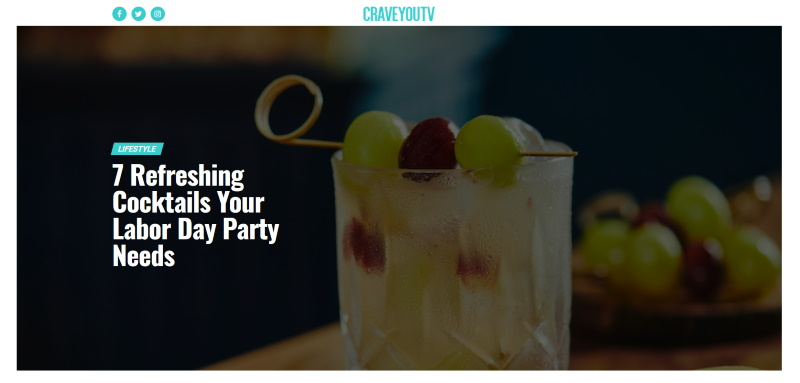 Crave You TV Article header