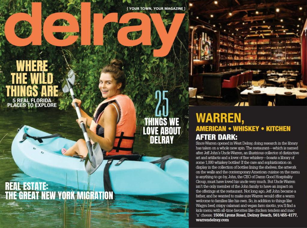 Delray Magazine cover